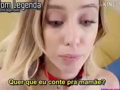 Sexo Escondido Legendado com Irma mamando o pau do irmão